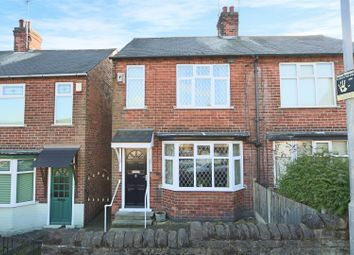 Thumbnail 2 bed semi-detached house for sale in Sherbrook Road, Daybrook, Nottingham