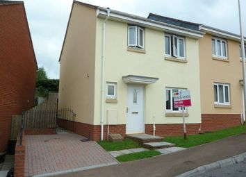 Thumbnail 3 bed end terrace house for sale in Oakfields, Tiverton