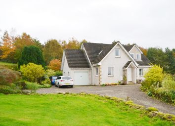 Thumbnail 4 bed detached house for sale in Rafford, Forres
