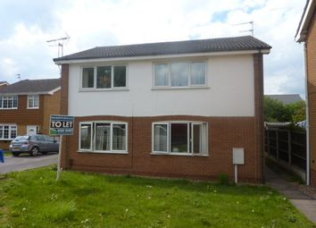 Thumbnail 2 bed flat to rent in Thurstone Furlong, Chellaston, Derby