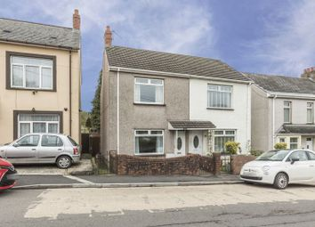 Thumbnail 2 bed semi-detached house for sale in Lower Wyndham Terrace, Risca, Newport