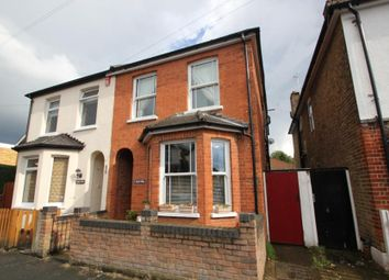 Thumbnail 4 bed semi-detached house to rent in York Road, Byfleet, West Byfleet