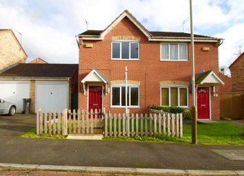 Thumbnail 2 bed semi-detached house to rent in Keswick Close, Glen Parva, Leicester