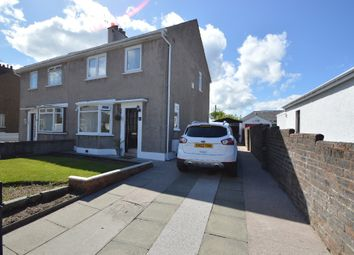 Thumbnail 3 bed semi-detached house for sale in East Park Road, Ayr, South Ayrshire