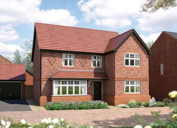 "Thumbnail 5 bed detached house for sale in ""The Chester"" at Queens Drive, Nantwich"