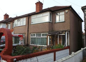 Thumbnail 3 bed terraced house for sale in Wellstead Avenue, Edmonton
