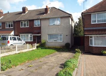 Thumbnail 2 Bed End Terrace House For Sale In Chantrey Crescent Great Barr Birmingham