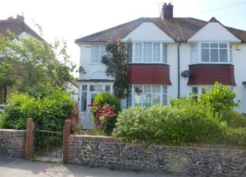 Thumbnail 3 bed semi-detached house for sale in Omer Avenue, Cliftonville