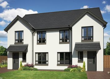 Thumbnail 3 bedroom semi-detached house for sale in Off Mannachie Road, Forres