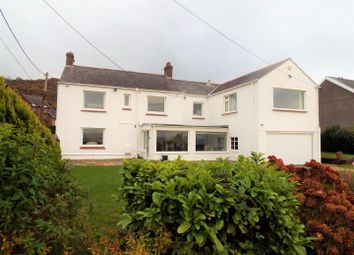Thumbnail 4 bed detached house for sale in The Hall, West End, Penclawdd, Swansea