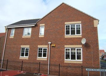 Thumbnail 2 bed flat to rent in White Rose Avenue, Mansfield