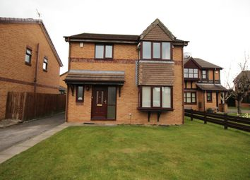 Thumbnail 3 bed detached house for sale in Bittern Close, Blackpool
