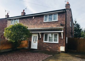 Thumbnail 2 bedroom semi-detached house to rent in Lime Tree Avenue, Crewe