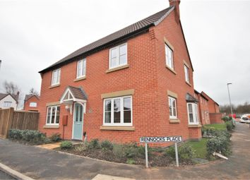 Thumbnail 4 bedroom detached house for sale in Rennocks Place, Thringstone, Coalville