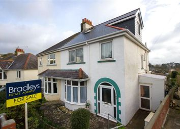 Thumbnail 4 bedroom semi-detached house for sale in Redburn Road, Paignton, Devon