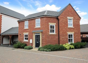 Thumbnail 3 bed detached house for sale in Alwin Court, Great Denham, Bedford