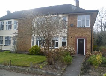 Thumbnail 2 bed flat to rent in Knighton Church Road, Stoneygate, Leicester