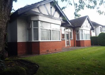 Thumbnail 2 bedroom detached bungalow for sale in Brantwood Road, Salford