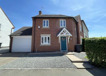 Thumbnail 3 bed detached house for sale in Moray Close, Church Gresley, Swadlincote
