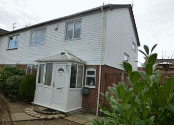 Thumbnail 3 bedroom semi-detached house for sale in Caldecott Road, Lowestoft