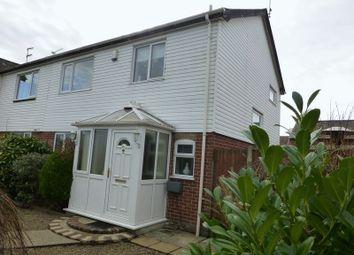 Thumbnail 3 bedroom semi-detached house for sale in Caldecott Road, Lowestoft