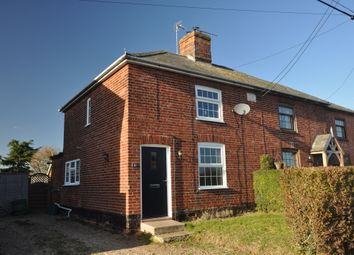 Thumbnail 3 bed semi-detached house for sale in St. Marys Road, Creeting St. Mary, Ipswich