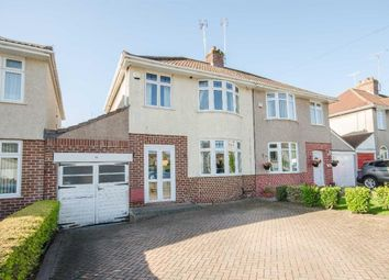 Thumbnail 3 bedroom semi-detached house for sale in Peache Road, Downend, Bristol