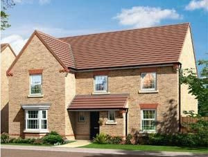 "Thumbnail 5 bedroom detached house for sale in ""Manning"" at St. Benedicts Way, Ryhope, Sunderland"