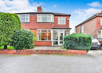 Thumbnail 3 bed semi-detached house for sale in Manley Road, Sale