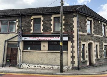 Thumbnail Commercial property for sale in Cwmsyfiog Ex Servicemens Club, 54-56 Queens Road, New Tredegar, Caerphilly