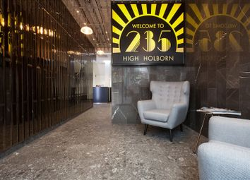 Thumbnail Serviced office to let in 235 High Holborn, London