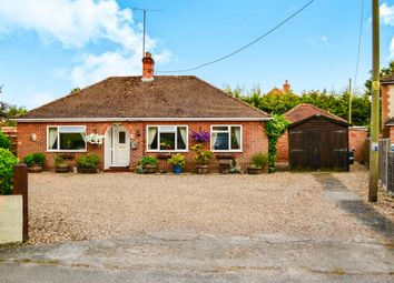 Thumbnail 4 bedroom detached bungalow for sale in Lodge Road, Feltwell, Thetford