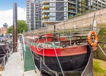 Thumbnail 2 bedroom houseboat for sale in Nine Elms Pier, Tideway Walk, Kirtling Street, London