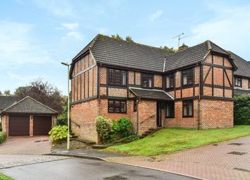 Thumbnail 5 bed detached house for sale in Catesby Gardens, Yateley, Hampshire