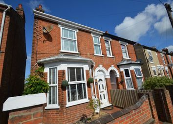 Thumbnail 3 bed semi-detached house for sale in Camden Road, Ipswich