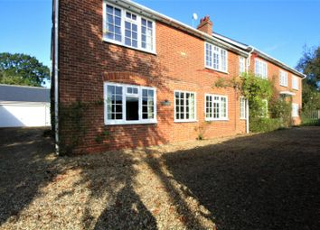 Thumbnail 4 bed detached house to rent in Manor Road, West Bergholt, Essex