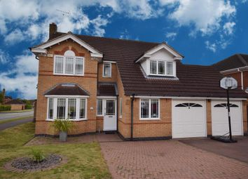 Thumbnail 5 bedroom detached house for sale in Longthorpe Close, Littleover, Derby