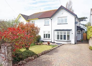 Thumbnail 4 bed semi-detached house for sale in Cog Road, Sully
