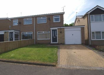 Thumbnail 3 bed semi-detached house for sale in Kettering Place, Cramlington