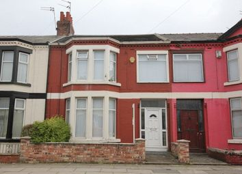 Thumbnail 4 bedroom terraced house for sale in Corinthian Avenue, Old Swan, Liverpool
