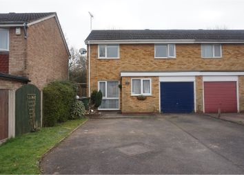 Thumbnail 4 bed semi-detached house to rent in Salford Close, Redditch