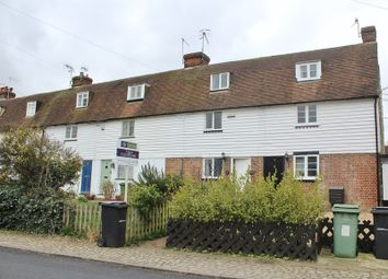 Thumbnail 2 bed terraced house to rent in Benover Road, Yalding, Maidstone