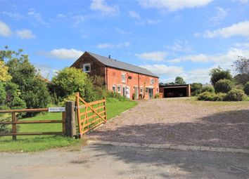 Thumbnail 4 bed barn conversion for sale in Marbury, Whitchurch