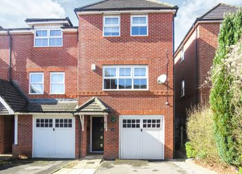 Thumbnail 3 bed town house for sale in Forfield Drive, Beggarwood, Basingstoke