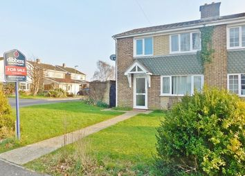 Thumbnail 3 bed semi-detached house for sale in Nursery Lane, Stubbington, Fareham
