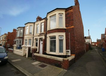 Thumbnail 3 bed flat for sale in Arthur Street, Redcar, Cleveland