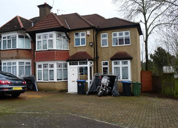 Thumbnail 4 bedroom semi-detached house for sale in Ambleside Gardens, Wembley