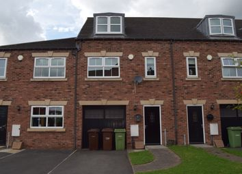 Thumbnail 3 bed town house to rent in Wobourn Court, Ossett