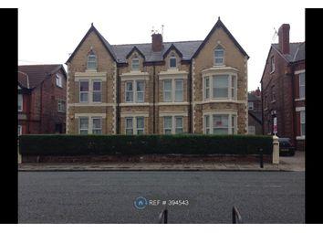 Thumbnail 3 bed flat to rent in Borough Road, Prenton