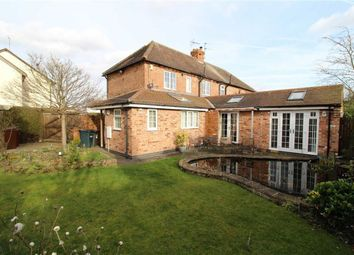 Thumbnail 2 bed semi-detached house for sale in Mill Crescent, Off Cross Street, Nottingham